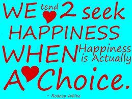 We Tend 2 Seek Happiness
