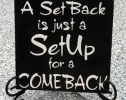 A Setback