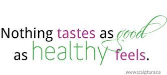 As Good As Healthy Feels