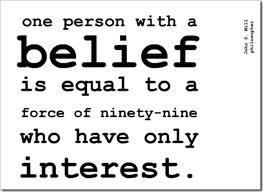 Belief vs Interest