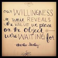 Willingness To Wait