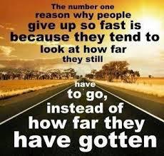 How Far You've Gotten