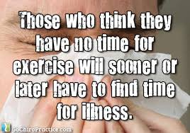 Exercise or Illness