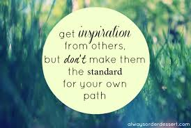 Inspiration from Others